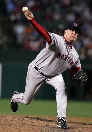 Curt Schilling announced his retirement Monday on his blog 38pitches.com