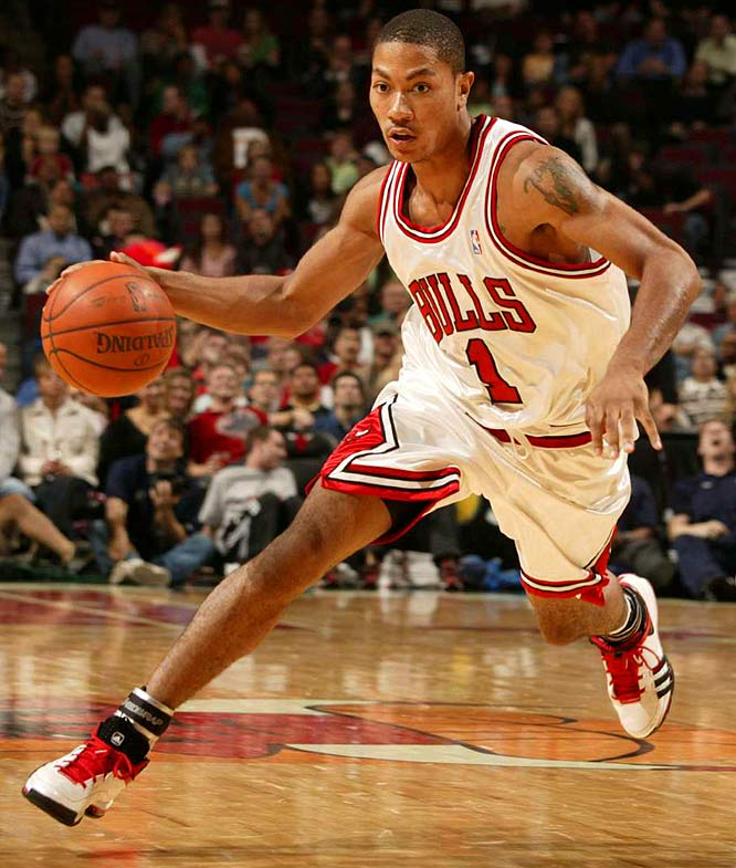 Derrick Rose scored just 9 points and committed 7 turnovers after recieving his ROY Award.